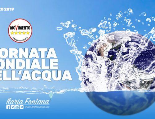 22 marzo:giornata mondiale dell'acqua