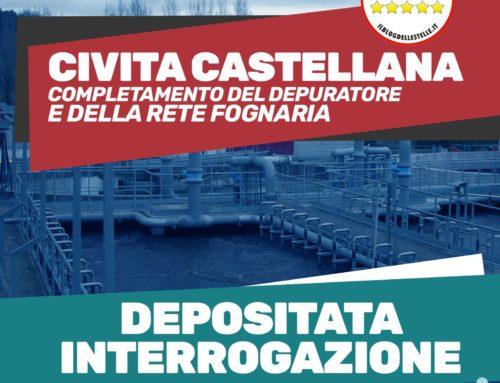 Rete fognaria di Civita Castellana, presentata interrogazione sul termine dei lavori