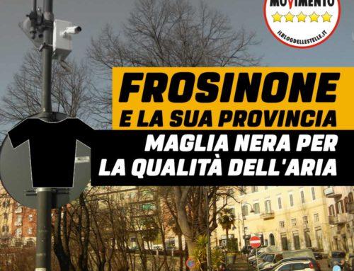 FROSINONE: MAGLIA NERA, DI NUOVO