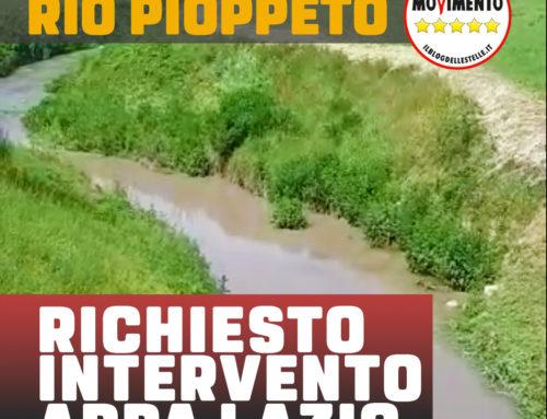 NUOVI SCARICHI NEL RIO PIOPPETO A VILLA SANTA LUCIA: VERIFICARE STATO DELLE ACQUE