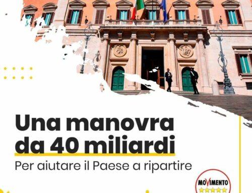 Il Governo ha stanziato 40 miliardi per la prossima Manovra
