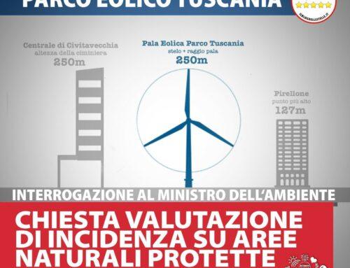 INTERROGAZIONE AL MINISTERO DELL'AMBIENTE: CHIESTA VALUTAZIONE DI INCIDENZA SU AREE NATURALI PROTETTE