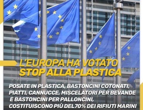 Anche l'Europa e #PlasticFree