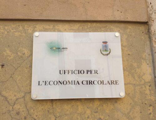Inaugurazione nuovo Ufficio Economia Circolare a Roccasecca (Fr)