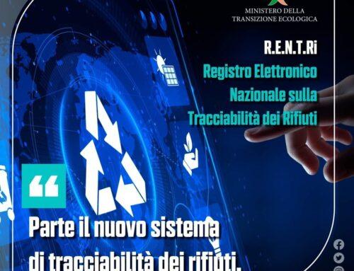 Parte il nuovo sistema di tracciabilità dei rifiuti