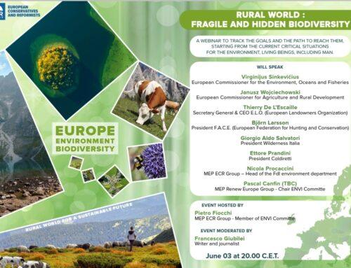 Saluti istituzionali al Webinar Rural world: fragile and hidden biodiversity