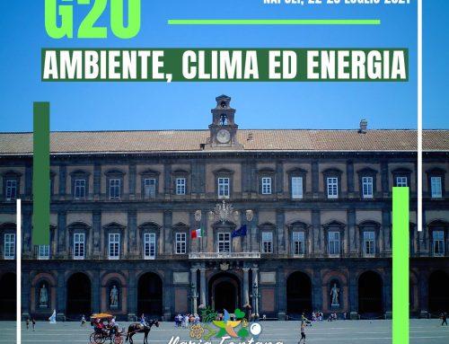 G20 Ambiente: a Napoli per discutere la lotta al cambiamento climatico