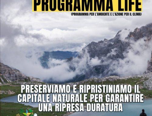 Programma LIFE: preserviamo il capitale naturale per garantire una ripresa duratura